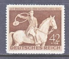 Germany  B 243  *  FAUNA  HORSE - Germany