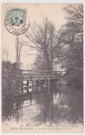 ENVIRONS D´ ORLEANS - BORD DU LOIRET EN 1904 - LA PASSERELLE DU MOULIN DES BECHETS - Autres Communes