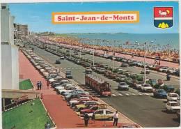 Saint Jean De Monts: TOURIST-TRAIN, CITROËN 2CV, DS & GS & GS BREAK,RENAULT 12, PEUGEOT 104, VW GOLF - Auto/Car - France - Turismo