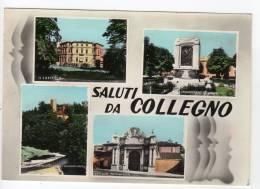 ^ COLLEGNO TORINO SALUTI DA VEDUTE MONUMENTO AI CADUTI OSPEDALE CASTELLO 102 - Italia