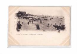 33 ARCACHON Plage, Grand Hotel, Animée, Ed ND 3, Dos 1900 - Arcachon