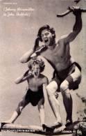 CINÉMA ANCIEN : JOHNNY WEISSMÜLLER [ TARZAN ] & JOHN SHEFFIELD - M.G.M. / HUNGARY ~ 1939 (n-296) - Schauspieler