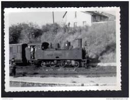 60 - OISE - SAINT JUST EN CHAUSSEE - PHOTOGRAPHIE 7,7 X 5,3 Cm - LOCOMOTIVE 130T HAINE St PIERRE N°15 - Trains