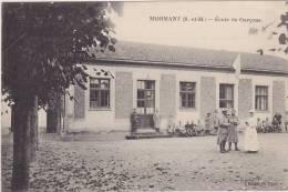 Cpa   Mormant.  Ecole De Garçons. ( 2 Scans ) - Mormant