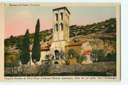 Beaumes De Venise : Chapelle Romane De Notre Dame D'Aubune. 2 Scans. Edition Cim - Beaumes De Venise