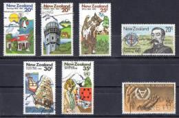 New Zealand 1981 Commemorations 2 Sets Used  SG 1256-1260, SG 1237,8 - New Zealand