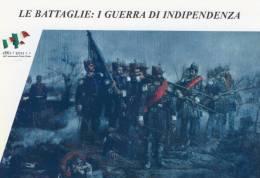 [DC1406] CARTOLINEA - LE BATTAGLIE: I GUERRA DI INDIPENDENZA - EPISODIO DELLA SCONFITTA DI NOVARA - 23 MARZO 1849 - (6) - Storia