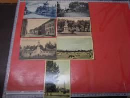 7 P  MAASEIK :Porte D´ Alden Eyck  , Kareind,   Huis De GAPERS,     MARKT, KERKHOF,   Hepperveld,   Hoofdkerk - Maaseik