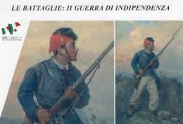 [DC1407] CARTOLINEA - LE BATTAGLIE: II GUERRA DI INDIPENDENZA - UN CACCIATORE DELLE ALPI - (7) - Storia