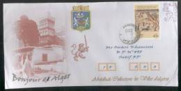ALGERIE ALGERIA ALGERIEN - 2013 - Armoiry Of Alger  Letter - Algeria (1962-...)