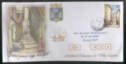 ALGERIE ALGERIA ALGERIEN - 2013 - Blason/Armoiry Of Alger  Letter - Algeria (1962-...)