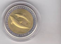 Tristan Da Cunha 25 Pence 2008  , Bimetallic - Other Coins