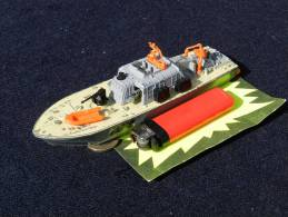 RARE : MOTOR PATROL BOAT 675 - DINKY TOYS -  MADE IN ENGLAND,   à Voir ...... - Boats