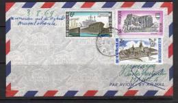 SABENA 1st Flight Manila Philippines 1969 (B 106) - Poste Aérienne