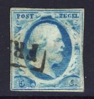 Niederlande / Netherlands 1852 : Mi 1A * - König / King Willem III - 1852-1890 (Guillaume III)