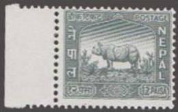 Rhino, Wildlife, Animal, MNH Nepal - Sellos