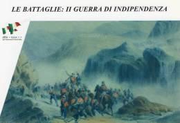 [DC1412] CARTOLINEA - LE BATTAGLIE: II GUERRA DI INDIPENDENZA - LA BATTAGLIA DI CALATAFIMI - 15/05/1860 (12) - Storia