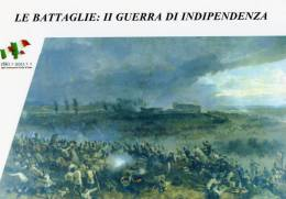 [DC1413] CARTOLINEA - LE BATTAGLIE: II GUERRA DI INDIPENDENZA - LA BATTAGLIA DI SAN MARTINO 24/06/1859 (13) - Storia