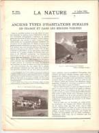 La Natura 1932 Construire Un Cerf Volant Kite Cerf Volant See Scan - Historical Documents