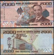 Sierra Leone P 31 - 2000 2.000 Leones 27.4.2010 - UNC - Sierra Leone