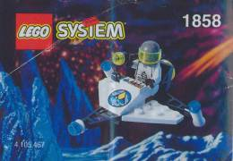 Plan Lego System 1858 Espacede 1996 - Plans