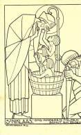 Kaart Getekend Jos Speybrouck: Sint-Niklaas, Ons Kinderen Milden Schut En Zegen - Illustrateurs & Photographes