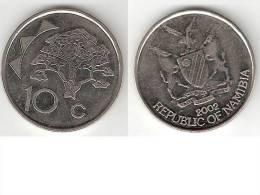 *nanibia 10 Cents 2002  Km 2 - Namibie