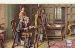 Rare Chromo Peek Frean Biscuit Chevalet Peinture Peintre - Trade Cards