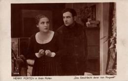 CINÉMA ANCIEN : HENNY PORTEN - FILM : DAS GESCHLECHT DERER VON RINGWALL (1918) - FILM STERNE / FILM-KUNST (n-330) - Acteurs