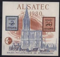 Bloc CNEP - N° 1 - Alsatec 1980 - X X - ( F 622 ) - CNEP
