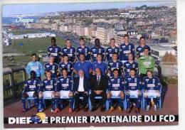 Dieppe - FCD Football Club Et Vue Générale  De La Ville SPORTS (recto Verso) - Dieppe