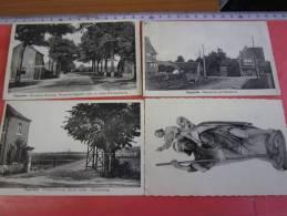 4 Postkaarten  :OPGRIMBIE :   Bussestr.,    WINDMOLENWEG,       PRIESTERSWEG - Tongeren