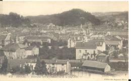 EPINAL -Panorama Vers Le Chateau Vu De La Clef D´or , Bon état ( Voir Scan) - Epinal