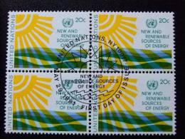 NACIONES UNIDAS ONU 1981 NEW YORK  Yvert  N º 340 º FU  PRIMER DIA CIRCULACION - Oblitérés