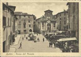 PERUGIA - SPOLETO, PIAZZA DEL MERCATO - S154 - Perugia