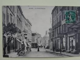 Alais  La Rue St Vincent - Alès