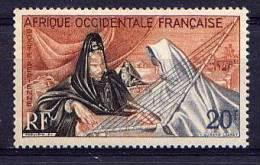 A.O.F. - N° A28** -  JOUEUSE D'ARDIN - A.O.F. (1934-1959)