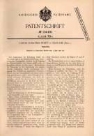 Original Patentschrift - L. Perry In Slough , England , 1901 , Inkpot , Tintenfass , Ink  !!! - Inkwells