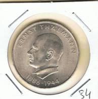 ALEMANIA - GERMANY -  REP. DEM.  20 Mark 1971A  KM34 - [ 6] 1949-1990 : RDA - Rep. Dem. Alemana