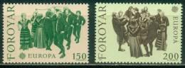 Färöer  1981  Europa - Folklore  (2 ** (MNH) Kpl. )  Mi: 63-64 (1,00 EUR) - Féroé (Iles)