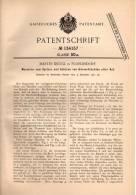 Original Patentschrift - M. Krügl In Floridsdorf - Wien , 1901 , Maschine Für Körnerfrucht , Früchte , Getreide !!! - Maschinen