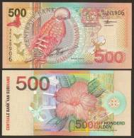 SURINAME. 500 Gulden 1.1.2000. Pick 150. UNC - Suriname