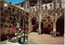 España--Malaga--1985--Patio Andaluz--Fechador--Malaga-a, Auray, Francia - Flores