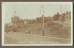 Essex   WESTCLIFF ON SEA Undercliff Drive  Faded RP  E470 - Southend, Westcliff & Leigh