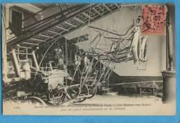 B103 THEM METIER POMPIER 2163 Services Des Sapeurs Pompiers De La Ville De Paris Les Harnais Ecrite Date 1907. - Firemen