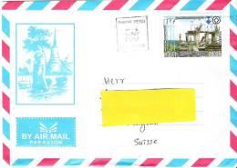 Brief Von PHNOM PENH  10 MAY 2012 In Die Schweiz - Cambodge