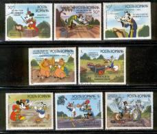 Disney Stamps - Romania 1986 USED - Disney