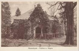 Putbus Auf Rügen, Mausoleum, Um 1930 - Rügen