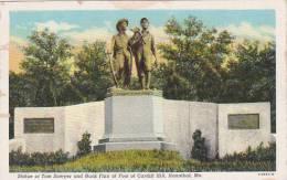 Missouri Hannibal Statue Of Tom Sawyer And Huck Finn At Foot Of  Cardiff Hill - Etats-Unis