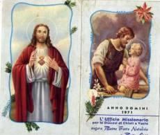 Calendarietto - Anno Domini - Chieti - Vasto 1971 - Calendari